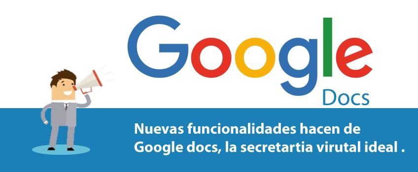 Google Docs, ahora toma nota por nosotros.